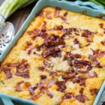 Cheese and Bacon Grits Casserole