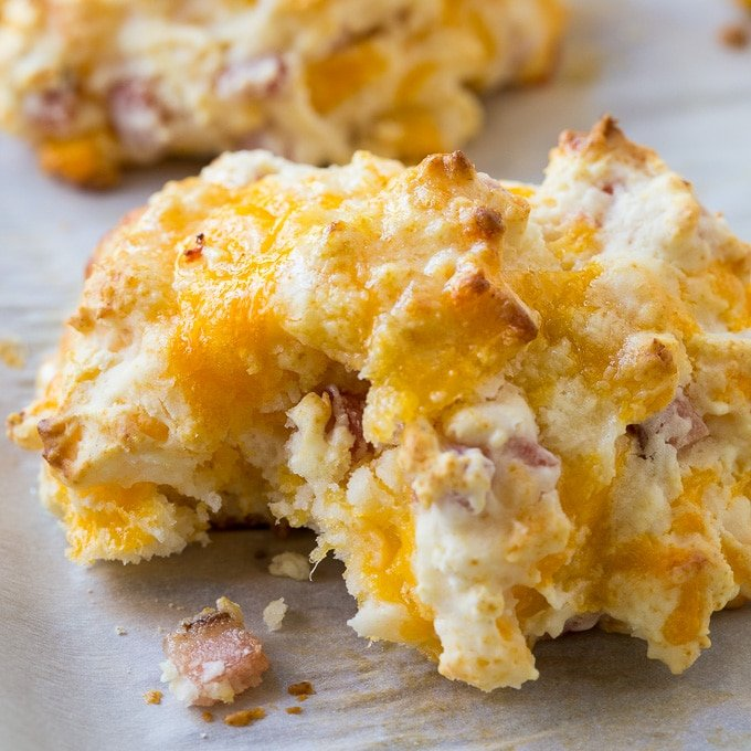 Easy Ham and Cheese Biscuits