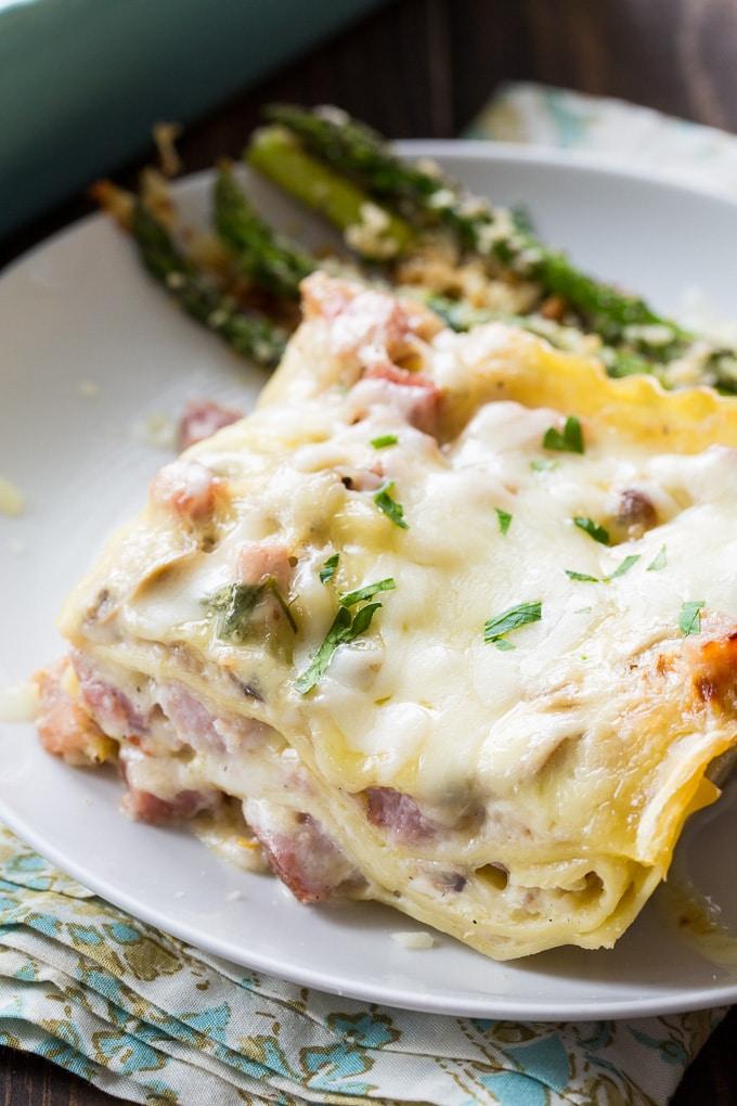 reamy Ham Lasagna