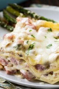 Creamy Ham Lasagna
