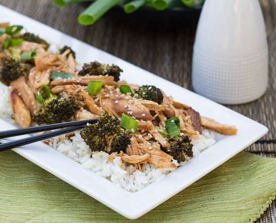 Slow Cooked Honey Soy Chicken