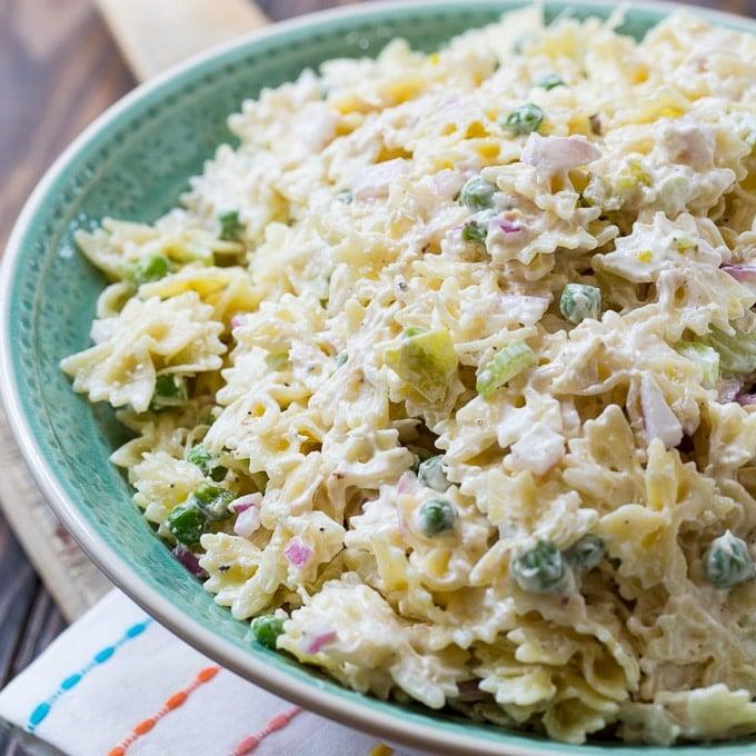 Spicy Horseradish Pasta Salad