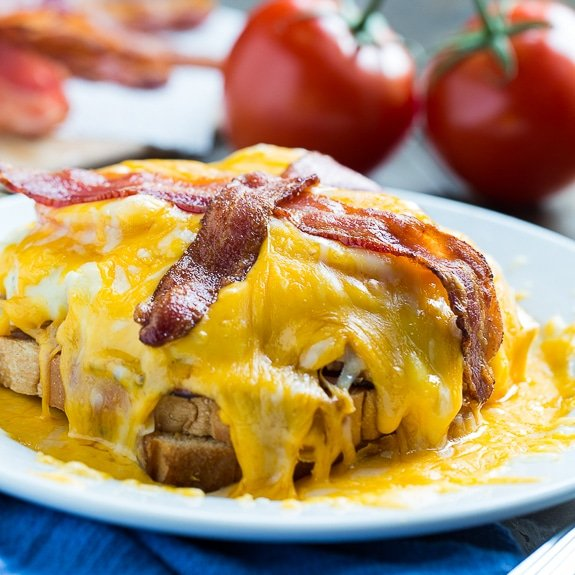 The Kentucky Hot Brown is a Kentucky classic.