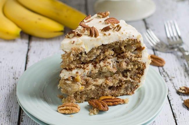 Hummingbird Banana Cake