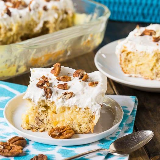 Hummingbird Poke Cake
