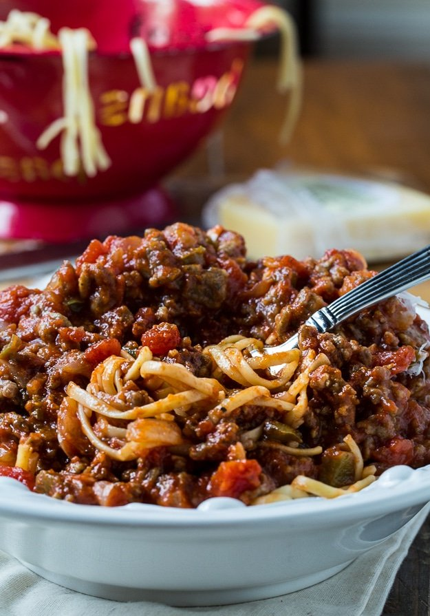 Southern Sausage Spaghetti Sauce