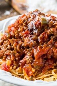 Southern Italian Sausage Spaghetti Sauce