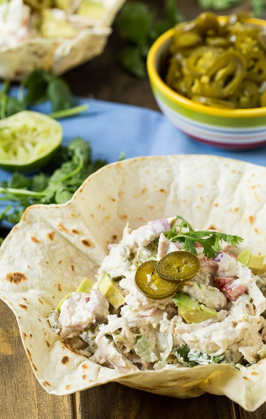 Jalapeno Chicken Salad