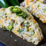 Jalapeno Bacon Scones