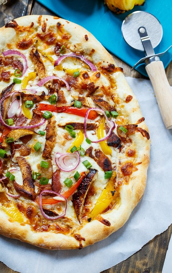 Jamaican Jerk Chicken Pizza (California Pizza Kitchen copycat)