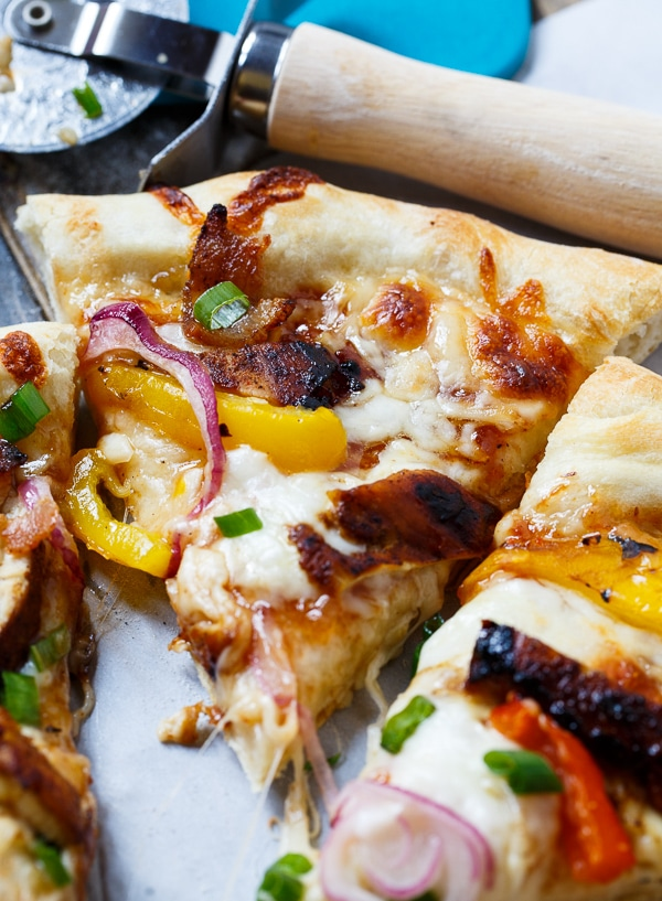 Jamaican Jerk Chicken Pizza