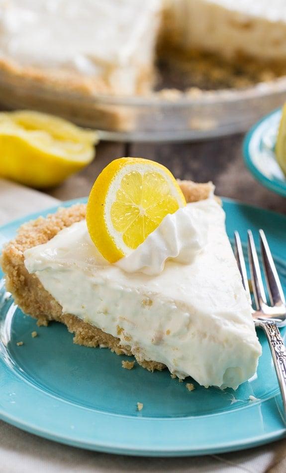 Lemon Icebox Pie - Spicy Southern Kitchen