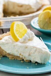 No-Bake Lemon Icebox Pie