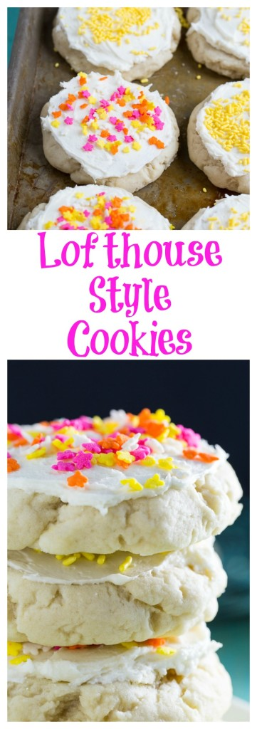Lofthouse-Style Cookies- even better than the ones at the store!