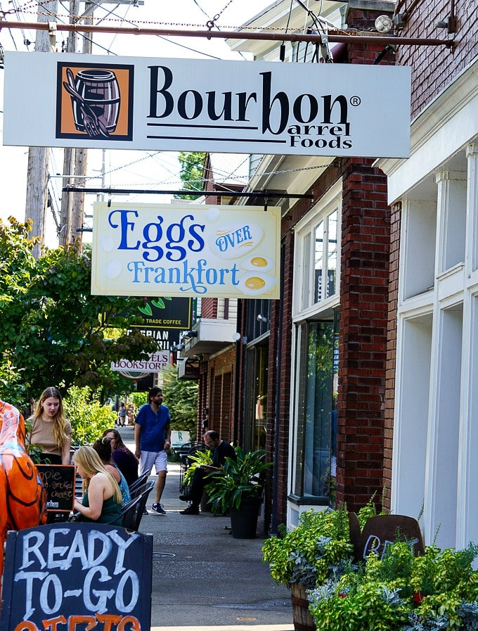 Bourbon Barrel Foods on Franklin Ave