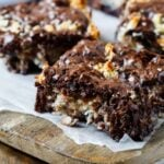 Easy Macaroon Brownies