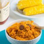 Bourbon Mashed Sweet Potatoes