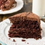 Duke's Chocolate Mayonnaise Cake - so moist and rich!