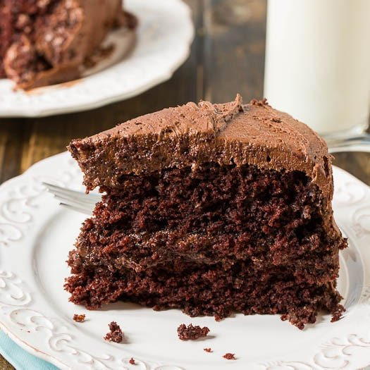 Chocolate Mayonnaise Cake is an incredibly moist and chocolaty cake ...