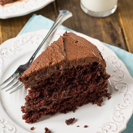 Duke's Chocolate Mayonnaise Cake - Spicy Southern Kitchen