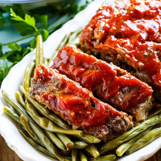 Classic Meatloaf- a family favorite weeknight meal.
