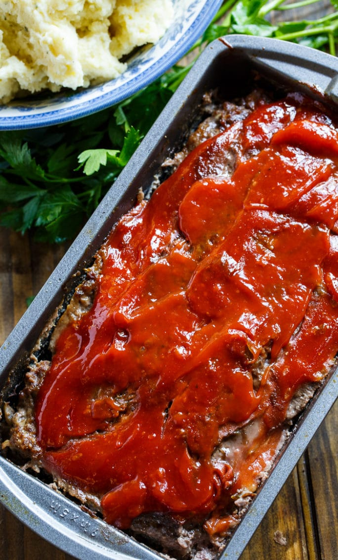 Classic Meatloaf- a weeknight favorite family meal.