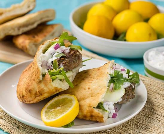 Mediterranean Lamb Burgers - Spicy Southern Kitchen