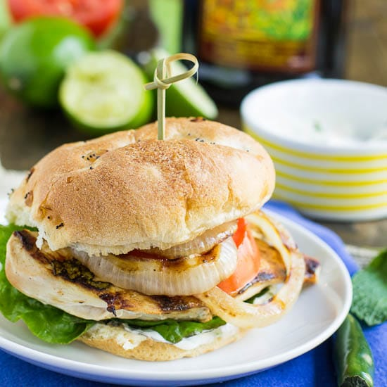 Mojito Chicken Sandwiches - Spicy Southern Kitchen