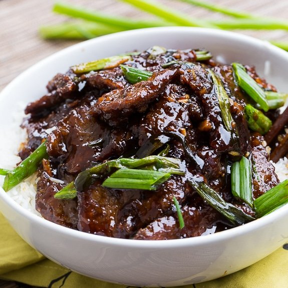 Mongolian beef pf changs copycat spicy southern kitchen mongolian beef pf changs copycat so easy to make and tastes even better forumfinder Choice Image