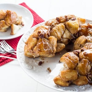 monkey bread with Grands Biscuits
