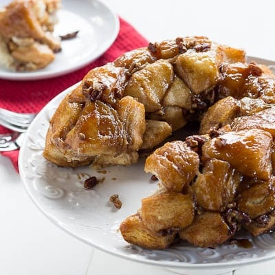 monkey bread made with pillsbury biscuits