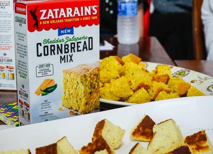 Zatarain's new cornbread mixes