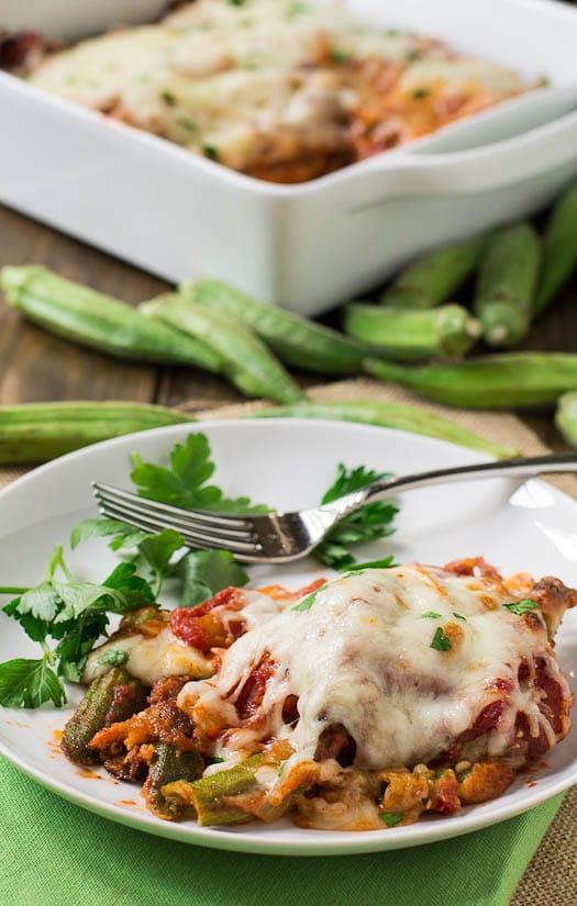 Okra Parmesan
