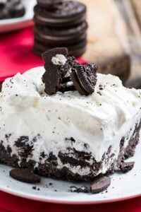 Cookies and Cream Ice Cream Sheet Cake