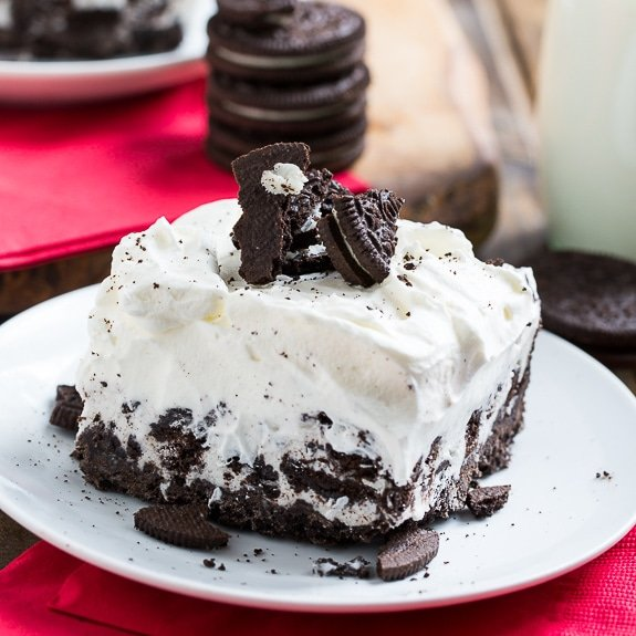 Cookies and Cream Ice Cream Sheet Cake