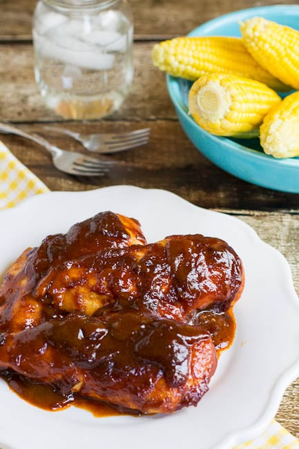 Sweet and Tangy Oven-Barbecued Chicken