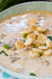 Homemade Oyster Stew