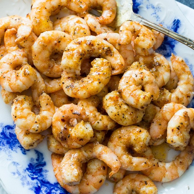 Spicy Party Shrimp recipe