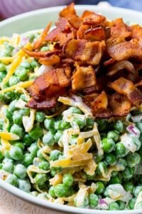 Creamy Pea Salad