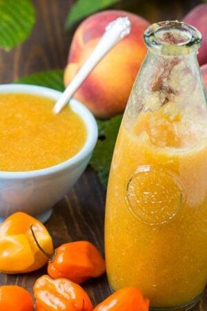Peach Habanero Hot Sauce