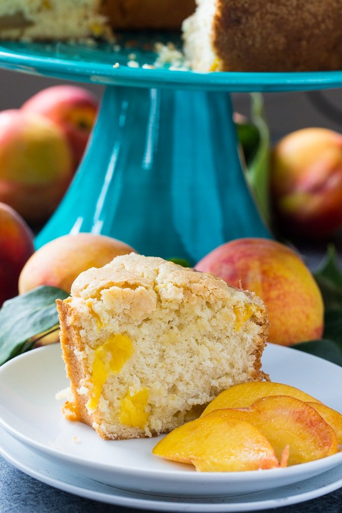 Georgia Peach Pound Cake