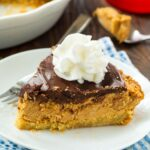 Chocolate and Peanut Butter Pie