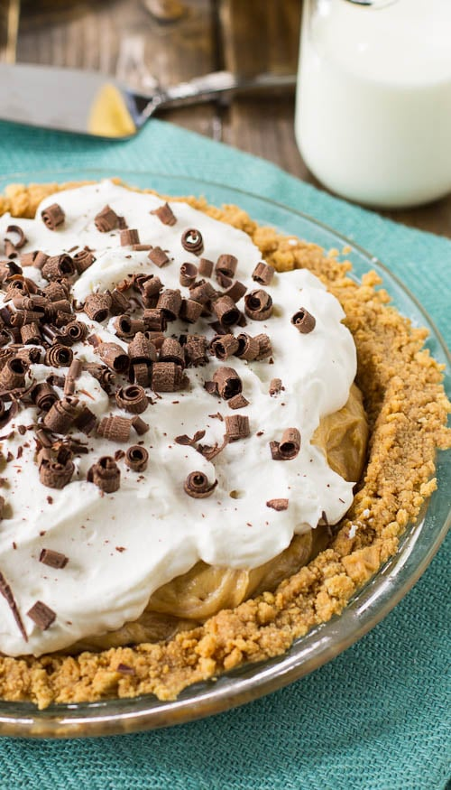 Peanut Butter-Banana Pie - Spicy Southern Kitchen