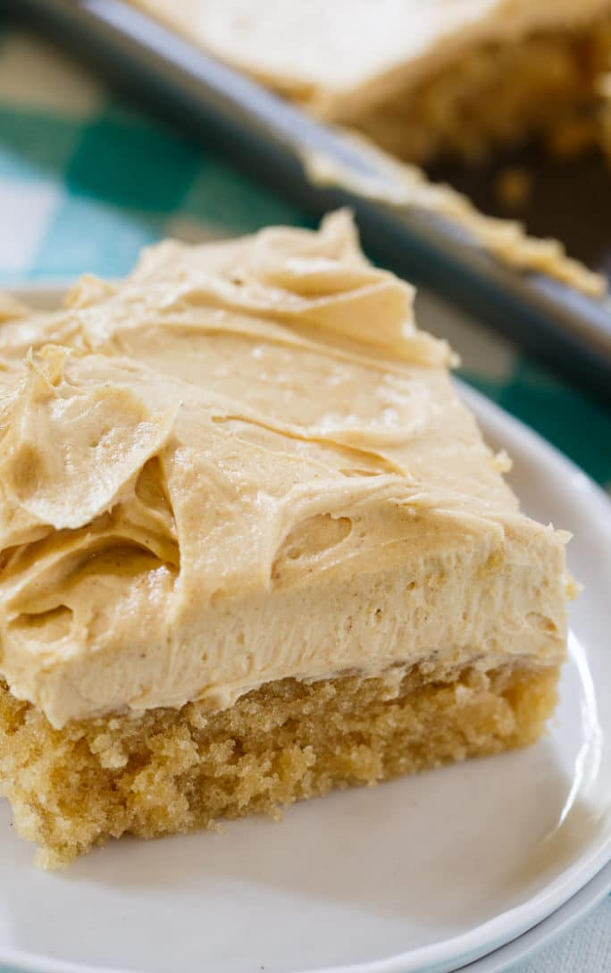 Peanut Butter Cake Recipe From Scratch