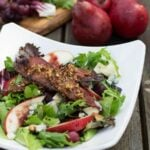 Apple-Pear Salad with Maple-Pecan Vinaigrette