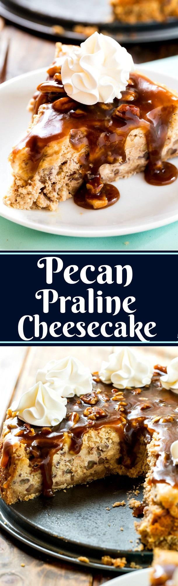 Pecan Praline Cheesecake