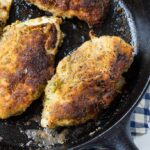 Pesto Pan-Fried Chicken