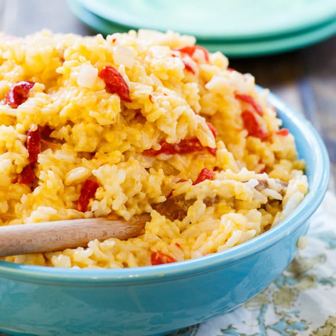 Pimento Cheese Rice - Spicy Southern Kitchen