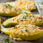 Pimento Cheese Stuffed Squash
