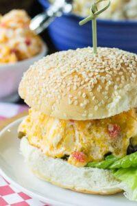 Pimiento Cheese Burger